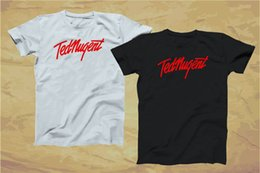 Design T Shirts For Man Australia - Design T Shirt Short Sleeve Fashion 2018 Crew Neck Ted Nugent Tees For Men