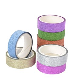 $enCountryForm.capitalKeyWord UK - 2019 Adhesive Silver Golden Glitter Washi Scrapbooking Christmas Party Wedding Home Decor Kawaii Cute Decorative Paper Crafts