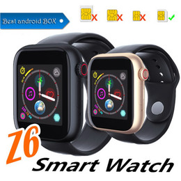 $enCountryForm.capitalKeyWord Australia - Z6 smart watch for iphone Smart Watch Bluetooth 3.0 watches with camera Supports SIM TF Card for android smart phone PK DZ09