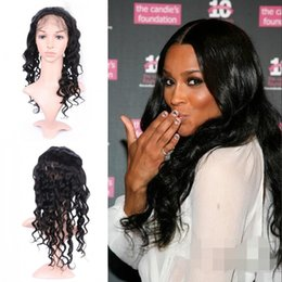 $enCountryForm.capitalKeyWord Australia - Cheap Price 360 Lace Frontal Closure Loose Wave With Baby Hair Ear To Ear 8-26inch Peruvian Human Hair In Stock