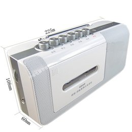 used microphones Australia - Portable FM MW radio AC DC dual-use power player recorder retro tape drive broadcast semiconductor machine built-in microphone
