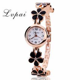 $enCountryForm.capitalKeyWord Australia - Lvpai 2019 Watch Women Gold Vintage Clock Women Bracelet Watch Ladies Brand Luxury Stainless Steel With Rhinestones