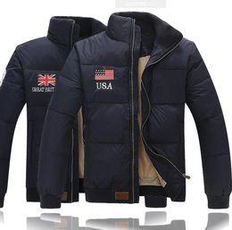 Wholesale down padded coat men for sale – warmest winter Men s winter warm down jacket Outdoor padded Polo down jackets Men s Down Parkas Man Outerwear Coats