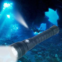 Waterproof Divers Torch Australia - XHP70.2 LED Diving Flashlight Underwater XHP70 Torch Linterna Waterproof Lamp White Yellow Light 26650 Battery +Charger