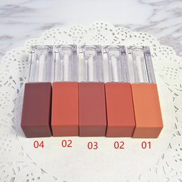 $enCountryForm.capitalKeyWord Australia - 5ml Empty Lip Gloss Tube ,High -End Elegant Reddish Brown Liquid Lipstick Refillable Tube Fast Shipping Wholesale