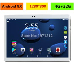 Pc Ram Cards Australia - 2019 New 10 inch tablet PC Octa Core 4GB RAM 32GB ROM Android 8.0 WiFi Bluetooth Dual SIM Cards 3G 4G LTE Tablets 10.1+Gifts