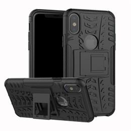 $enCountryForm.capitalKeyWord Australia - For iphone XS MAX XR X 7 8 Plus 6s 6 Case Hard Plastic Soft Silicone Hybrid Armor Stand Holder PC+TPU Cover Capa
