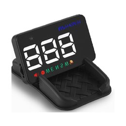 $enCountryForm.capitalKeyWord Australia - A5 Mini GPS HUD Speedometer Car Parts 3.5 Inch A5 GPS HUD Window Projector Speedometer Car Heads Up Display