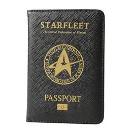 Black Blocks Australia - Starfleet Multifunctional Rfid Blocking Passport Cover Leather Hogwarts Gryffindor Ravenclaw Passport Holder Case