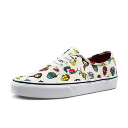 Pictures marvel online shopping - Women Men cartoon pictures Outdoor Fashion Canvas Marvel Shoes