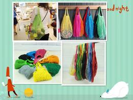 $enCountryForm.capitalKeyWord Australia - MESH net shopping bags fruits vegetable portable foldable cotton string reusable turtle bags for kitchen