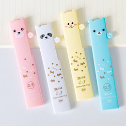 mechanical bearing NZ - 0.5mm Kawaii Panda Bear Pencil Leads for Mechanical Pencil Writing Refill School Supply Student Stationery