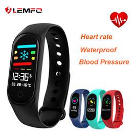 $enCountryForm.capitalKeyWord Australia - LEMFO M3 Smart Wristbands Smart Bracelet Blood Pressure & Heart Rate Monitor Colorful Touch Screen IP67 Waterproof Outdoor Fitness Bracelet