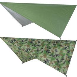 $enCountryForm.capitalKeyWord UK - Ultralight Tarp Outdoor Camping Survival Sun Shelter Shade Awning Silver Coating Waterproof Beach Tent