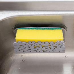 Wall Mount Storage Organizer Australia - 2019 Hot Suction Sponge Holder Dish Cloths Rack Clip Rag Storage Rack Kitchen Bathroom Organizer Wall Mounted