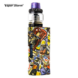 $enCountryForm.capitalKeyWord UK - 80W ECO Pro Electronic Cigarettes with Hawk Tank Starter Kit Color Vape Mod Graffiti ABS Box Mod for 18650 Battery Box 2ml Atomizer