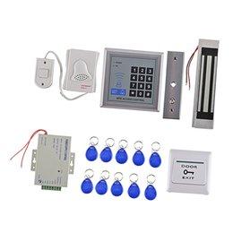 Toptan satış Kart Okuyucu Kapı Geçiş Kontrol Güvenlik Sistemi Setleri Elektrikli Manyetik Kilit