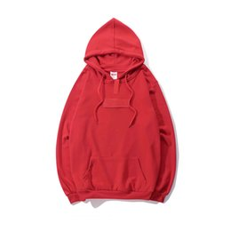 $enCountryForm.capitalKeyWord Australia - SS suprême classic mens designer hoodie brand red box logo hoodied sweater outdoor fitness jogger pullover street skateboard sweatshirt 1:1a