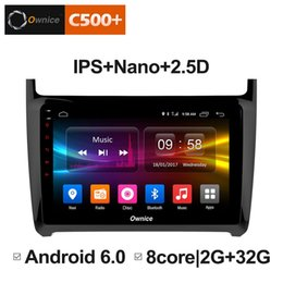 """Media Player Australia - 9"""" 2.5D Nano IPS Screen Android Octa Core 4G LTE Car Media Player With GPS RDS Radio Bluetooth For VW Polo 2012-2016 #3578"""