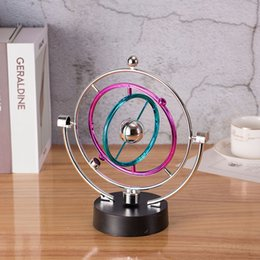 LP1025 Ferris wheel perpetual motion celestial body model creative furniture home decoration shaker Funny magic toy on Sale
