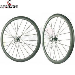 $enCountryForm.capitalKeyWord Australia - LEADXUS Full Carbon Fiber 50MM Clincher Tubular Roue Velo Fixie Bicycle Wheel Fixed Gear 700C Carbon Track Bike Wheels