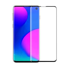 Para samsung s10 e cobertura completa 3d filme protetor de tela de vidro temperado para galaxy s10 5g plus s9 s8 nota 8 9 sem pacote em Promoção