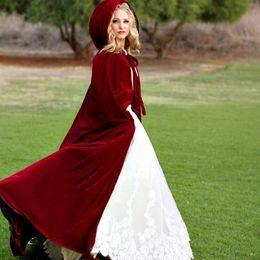 $enCountryForm.capitalKeyWord NZ - HOT Cloak Hooded Velvet & Satin Cape Renaissance Clothing Medieval Costume