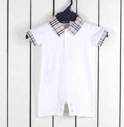 $enCountryForm.capitalKeyWord Australia - summer christmas Baby girls boys onesies cotton lapel short-sleeved new born Jumpsuit clothes 0-18 months newborn baby rompers