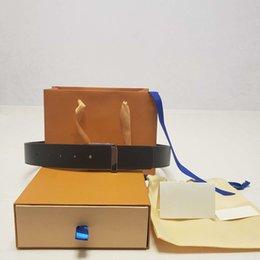 Großhandel Gürtel heißen Verkaufs-Gurt für Mann-Frauen-Gurt Breite 3.8cm 12 Styles hohe Grad Qualität mit Box