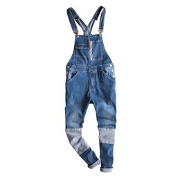 Overalls For Mens Australia - Fashion Japan Style Mens Army Green Jumpsuit Pants Man Slim Fit Skinny Bib Overalls Pants Casual Summer Trousers For Men 092502 T2190614