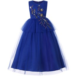 Discount thin tea - Pink Kids Flower Girl Dresses Pleated Tulle Thin Shoulder Strap Lace Applique Princess Pageant Wedding Party Dresses