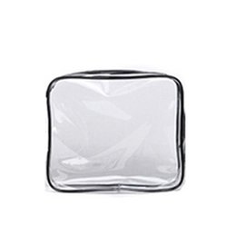 making makeup bag UK - PVC Transparent Cosmetic Bag Women Travel Make up Toiletry Bags Makeup Organizer Case