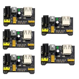 Module Pic Australia - 5 Pcs Breadboard Power Supply Module 3.3V 5V MB102 Switched Header for Arduino PIC Pi