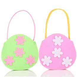 $enCountryForm.capitalKeyWord Australia - Small Cute Tote Storage Bag Easter Day Sunday Party Bunny Gift Flora Flower Candy Hand Bags For Girl Kid Handbag Mini Totes Bag