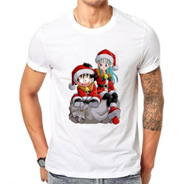 Kids Collar Print T Shirts Australia - good quality Dragon Ball Men Collar T Shirt Cartoon Print Kids T-shirts White Fashion Summer Top Short Sleeve Boys T-shirts And Shirt