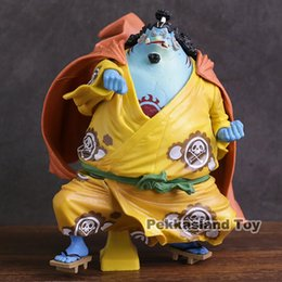 artist figures Australia - Anime One Piece KOA King Of Artist The Jinbe 1 8 Scale PVC Figure Collectible Model Toy