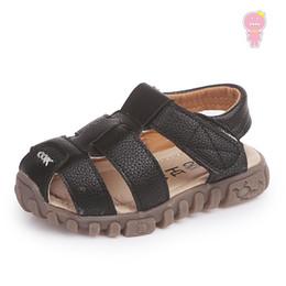 $enCountryForm.capitalKeyWord Australia - Summer boys sandals baby sandals kids soft shoes children Brand shoes fashion PU breathable closed toe 1 to 12 yrs