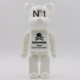 New 400% Shantou Bearbrick violent bear hand model toy desktop decoration birthday christmas gift HD24 on Sale