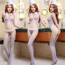 $enCountryForm.capitalKeyWord NZ - 2019 popular style European and American new style seductive wild sexy lingerie connected net clothes game uniform manufacturer