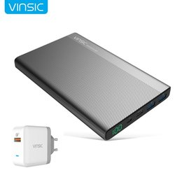 $enCountryForm.capitalKeyWord Australia - 20000mAh LCD Power Bank Type-C Dual USB External General Light weight, compact size Casual Battery Charger