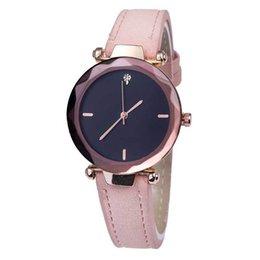 Pin Shine UK - Women Watches Shining Geometry Crystal Leather Quartz Watch Fashion Dress Watch For Woman Gift Wristwatch Clock Relogio Feminino