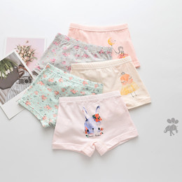 $enCountryForm.capitalKeyWord Australia - 15Pcs Lot Girls sweet princess Children's underwear boxers kids underpants Suitable for 2 years to 14 year girls flat thin panties S19JS156