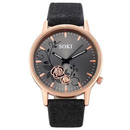 $enCountryForm.capitalKeyWord Australia - Elegant Dial Watches Women Luxury Bracelet Watch Dress Female Leather Montre Femme Quartz Wristwatches Relogio Feminino Gift #c T190619