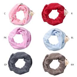 $enCountryForm.capitalKeyWord Australia - Womens Solid Color Infinity Fashion Scarves Wrap Hidden Zipper Pocket ,Travel Scarf