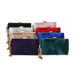 Ladies Evening Handbags Australia - 2019 New Crossbody Shining Dinner Bag Metal Tassel Crafts Women Handbag Craft Party Fashion Women Bag Ladies Evening Clutch Bag With Frame