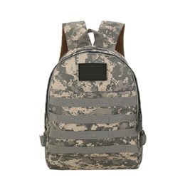 Bag Outdoor Mountaineering Australia - Unisex Mountaineering Travel Short Bag Camouflage Double Shoulder Backpack Large Capacity Nylon Outdoor Travel Camping Bag