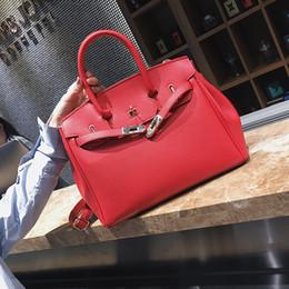 $enCountryForm.capitalKeyWord NZ - Lady bags 2019 Tide Female Bride Marry package Litchi Lines Single Shoulder Spans handbag