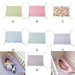 Solid Baby Bedding Australia - Baby hammock Euro style family detachable portable bed kit multi color baby boy girl safe Hammock