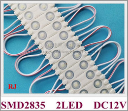 pcb module Canada - with lens aluminum PCB waterproof IP65 injection LED module light for mini sign letters DC12V 40mm*13mm SMD 2835 2LED 1W CE high bright
