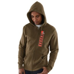 Hoodie caps online shopping - 2019 Men Cleveland Sweatshirt Browns Salute to Service Sideline Therma Performance Black Brown Hyper Stack Full Zip Hoodie